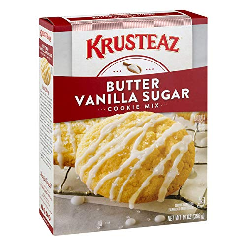 Krusteaz Bakery Style Cookie Mix, Butter Vanilla Sugar, 14-Ounce Boxes (Pack of 12)