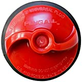 DANCO PlugAll Mechanical Test, Seal & Cleanout Pipe Plug | For Drains & Clean-outs | Fits 1-1/2 inch and 2 inch pipes | DWV Testing (10839),Red