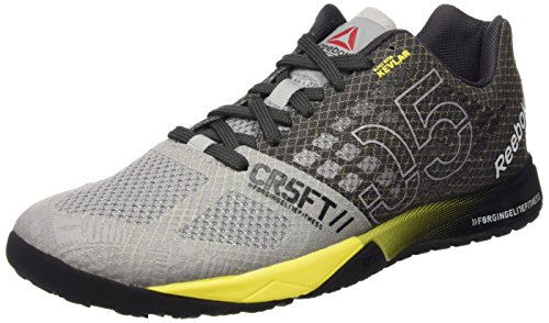 Coal 0 Reebok 5 Yellow Gris Chaussures de Femme Crossfit Nano Multicolore Tin Grey Black Spark Running qxw7Rt4qr