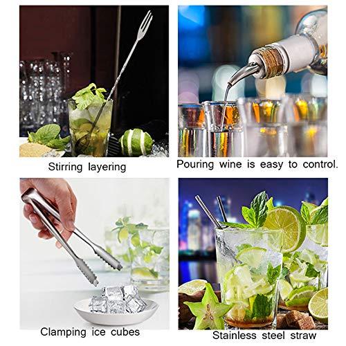 Premium Cocktail Cocktail Cocktail Shaker-Set  9-teiliges Barkeeper-Cocktail-Kit mit Aufbewahrungsgestell - Skandinavisches Home-Kit und Cocktail-Shaker-Set B07MDCZ4SG Cocktail-Sets 1ec7c4