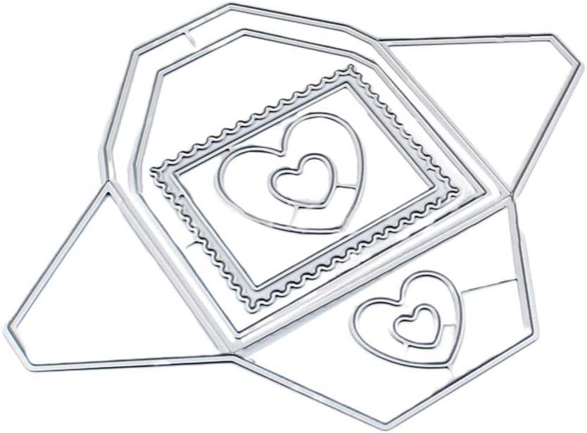 Liebe Herz Baum Metall Stencil Cutting Dies Scrapbooking Karten Handwerk  Album