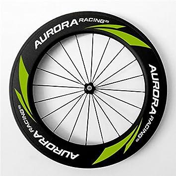 Aurora Racing 88 mm carbono Clincher ruedas para bicicleta de carreras dt350s Hub Sapim CX-Ray 20 radios/24 agujeros: Amazon.es: Deportes y aire libre