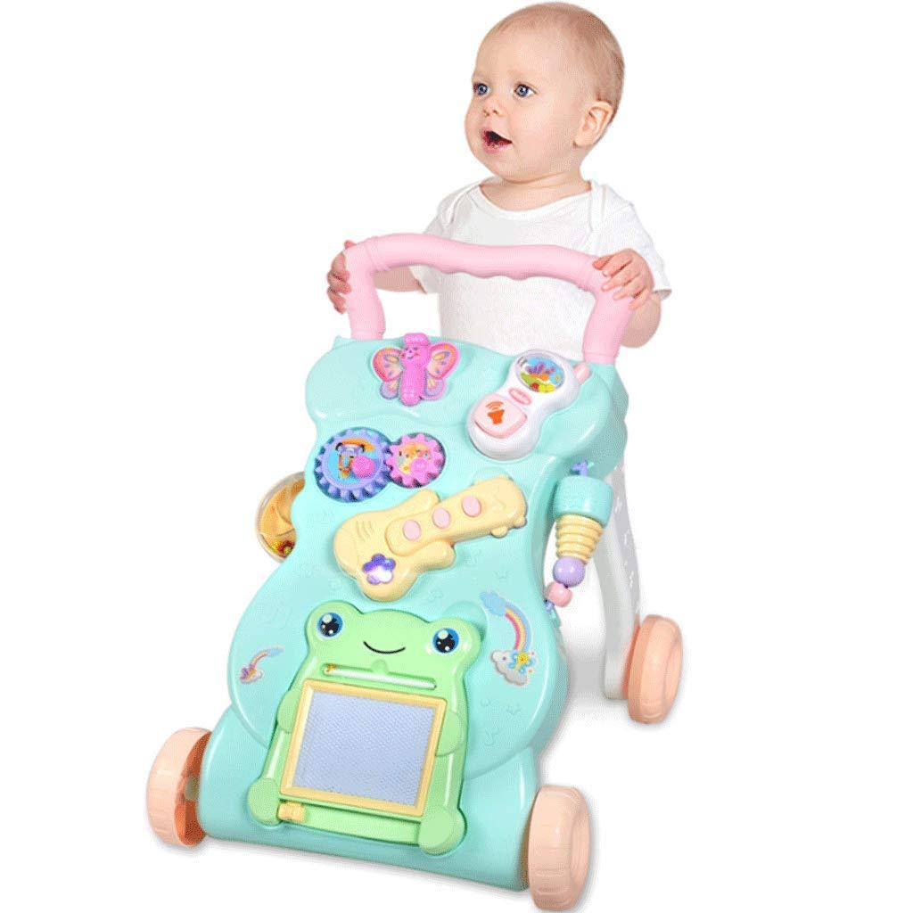 名作 ベビーウォーカー0-2歳Music B07JYVL3DY Adjustable Toy Speed Toy Adjustable B07JYVL3DY, 早良区:2fe150b4 --- kilkennyhousehotel.ie