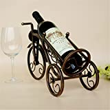 Colored Kitchen Cabinets Ussuperstar Vintage Bronze-colored Tricycle Wine Bottle Rack Holder Home Kitchen Living Dining Room Decor 41cm15cm25cm
