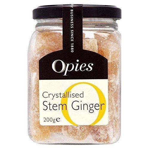 Opies - Crystallised Ginger Slices - 200g (Pickled Pickles Walnut)