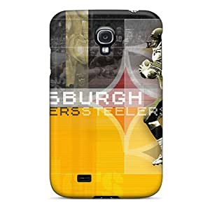 New Arrival CaS856qwZT Premium Galaxy S4 Case(pittsburgh Steelers)