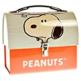 Peanuts Snoopy Brotdose aus Metall - Lunchbox Vesperbox Comic Brotbox aus Metall