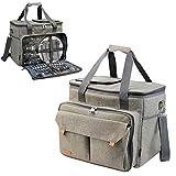 Picnic Basket Tote | Picnic Shoulder Bag Set