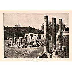 1904 Print Temple Serapis Pozzuoli Ancient Culture Italy Europe - Original Halftone Print