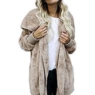 Vovotrade Women Hooded Long Coat Jacket Hooded Winter Warm Parka Outwear Cardigan Trench Coat...