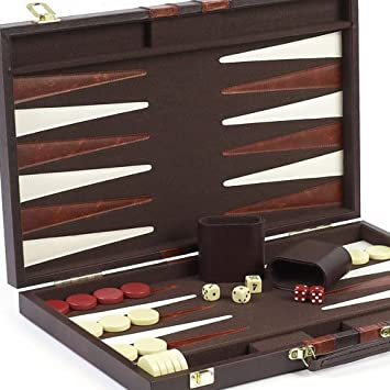 - Bello Games Bleecker Street Designer Backgammon Set /(46cm /)