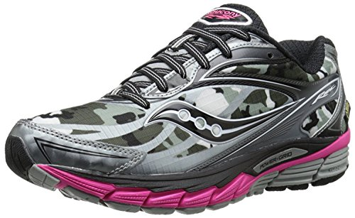Pink UK Shoe B B 37 White EU 8 M Women's M Saucony Black GTX Running Ride 4 XqaxBw8