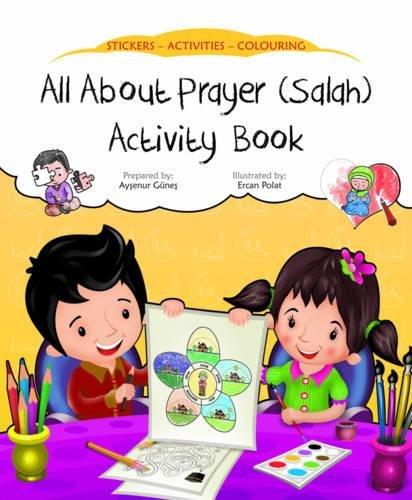 All about Prayer (Salah) Activity Book (Discover Islam Sticker Activity Books)]()