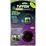 Tiffen Digital Essentials: Twin Pack Camera Lens Filters, 58 mm: Protective Clear Filter and Circula