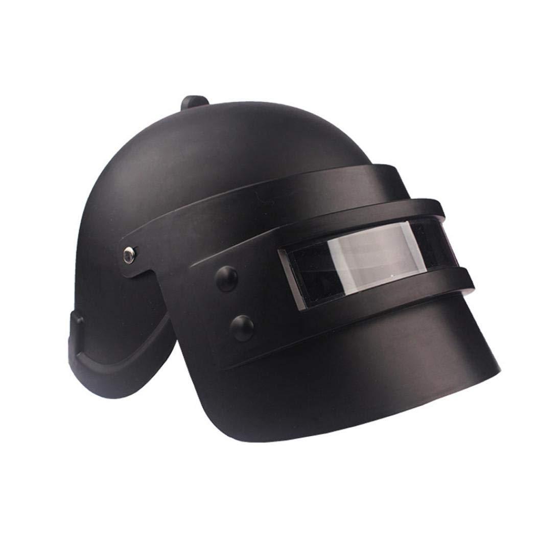 Simulation Battlegrounds Level 3 Helmet Cap Props(25.5x 19x 16cm),123Loop Game Cosplay Mask Battlegrounds Level 3 Helmet Cap Props by 123Loop (Image #4)