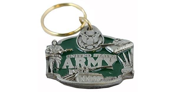 Amazon.com: US Army Llavero Militar Collectibles Patriótica ...