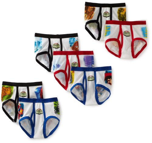 Fruit of the Loom Boys  7 Pack Superhero Squad Briefs Prints