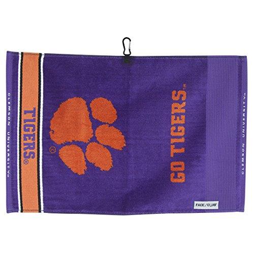 (Team Effort Clemson Tigers Face/Club Jacquard Towel)