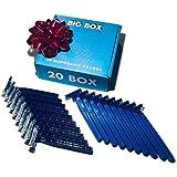 20 Box of Blue Wholesale Bulk Disposable Twin Blade Razors for Men & Women