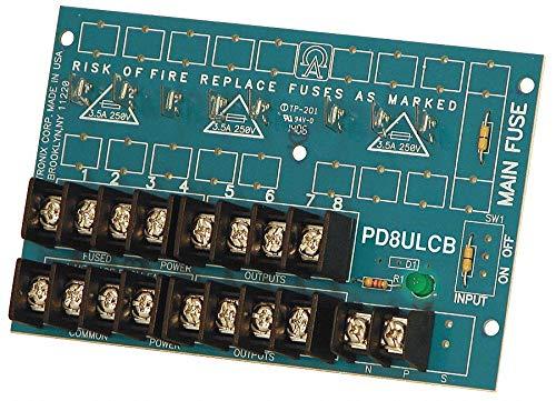 Phenolic or Fiberglass Power Dist Module 8 Output PTC