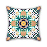 Bohemian Cushion Covers 16 X 16 Inches / 40 By 40 Cm Gift Or Decor For Christmas Pub Her Valentine Bench Gril Friend - Twice Sides