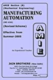 AMIE Manufacturing Automation MC-434 Solved Paper