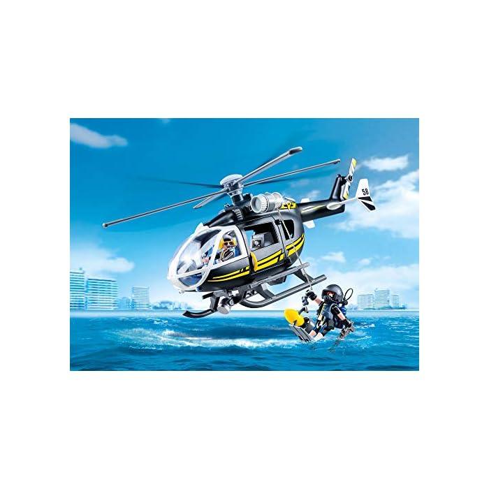 Helicóptero Lego Playmobil