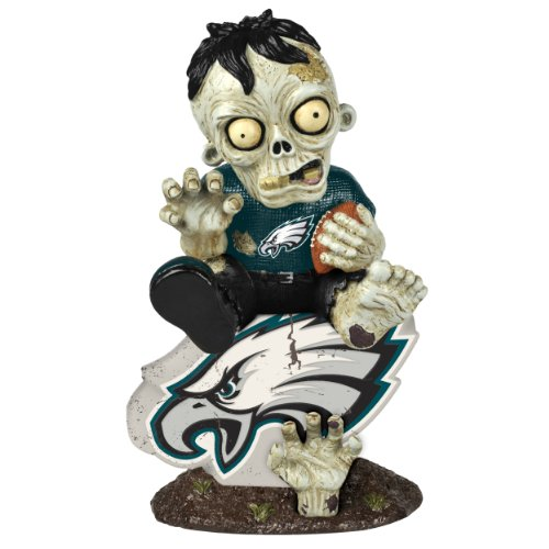 NFL Philadelphia Eagles Zombie On Logo Figurine