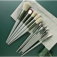 Makeup brush set 13pcs with flannelette bag-Suitable for Foundation Blending Blush Concealer Eye Shadow-Superfine…