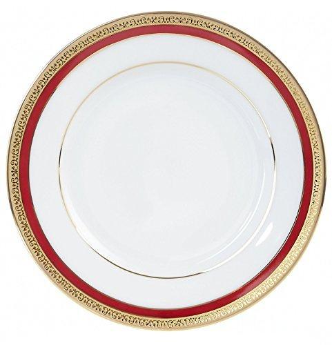 Charter Club Dinnerware, Red Rim Salad Plate