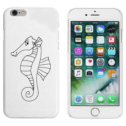 Blanc 'Hippocampe' étui / housse pour iPhone 6 & 6s (MC00084247)