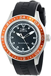 "Invicta Men's 15225 ""Specialty"" Stainless Steel and Polyurethane Watch"