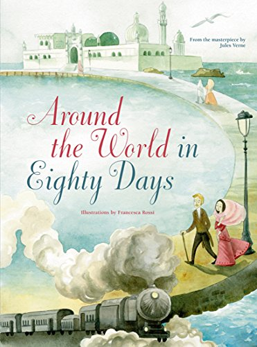 Book cover for Around the World in Eighty Days