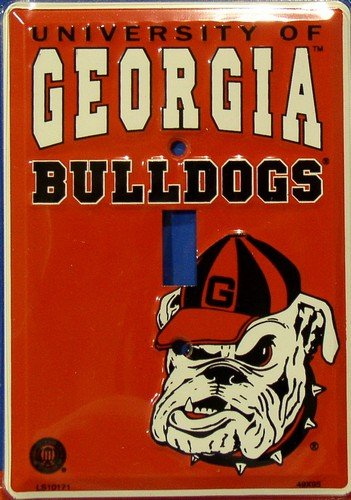Georgia Bulldogs Light Switch Cover (single)