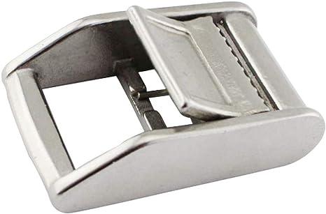 Sharplace Boucle en Acier INOX pour Sangle dArrimage Pi/èce de Remplacement Ceinture de Taille