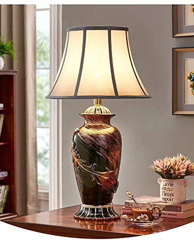 songyang Lámpara de Mesa de cerámica Arte Creativo lámpara de ...
