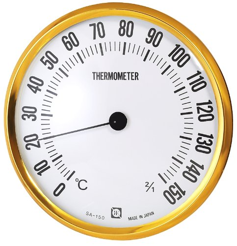 Kureseru dry sauna thermometer wall hanging for diameter 15cm SA-150 ()