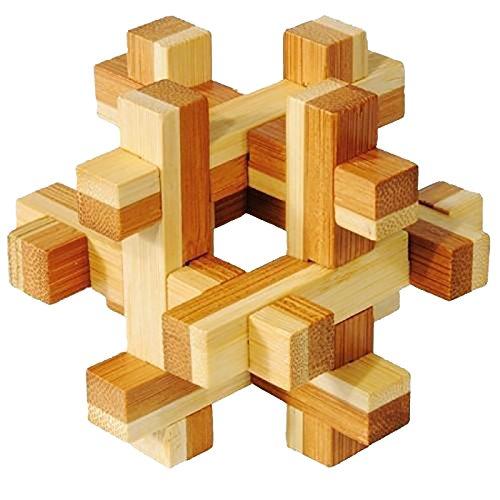 早割クーポン! Bamboo Puzzle Puzzle Bamboo Construct IQ-Test B005X6CP6S B005X6CP6S, 【オンラインショップ】:9db22ff8 --- quiltersinfo.yarnslave.com
