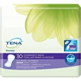 Tena Serenity Overnight Ultimate Pads 30 Count (Pack of 3)