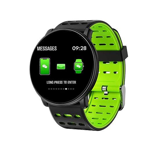 ZNSBH Smartwatch,Impermeable Reloj Inteligente con ...