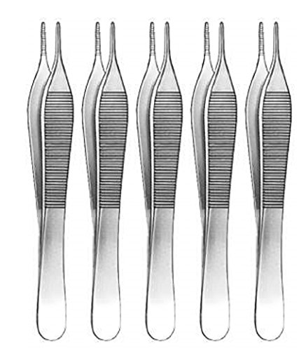 Adson Dressing Forcep (Adson Dressing Surgical Forceps 4 3/4