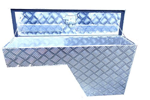 Bed Wheel Well - Brait BR10L Pork Chop Fender Well Tool Box Aluminum, Left/Driver side