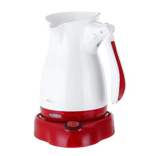 Cafetera eléctrica portátil Espresso Tea Moka Pot Cafetera Base ...