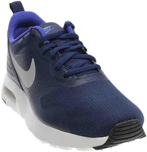 super popular 6124d 793d9 Nike Youth Air Max Tavas Binary Blue Wolf Grey Mesh Trainers 38.5 EU