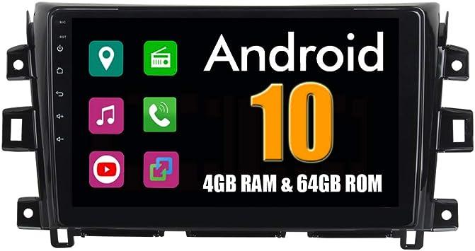 Roverone 10 2 Zoll Android System Octa Core Für Nissan Navara Np300 2015 Auto Multimedia Player Mit Autoradio Stereo Gps Navigation Radio Bluetooth Mirror Link Touchscreen Navigation