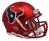 NFL Houston Texans Alternate Blaze Speed Mini Helmet