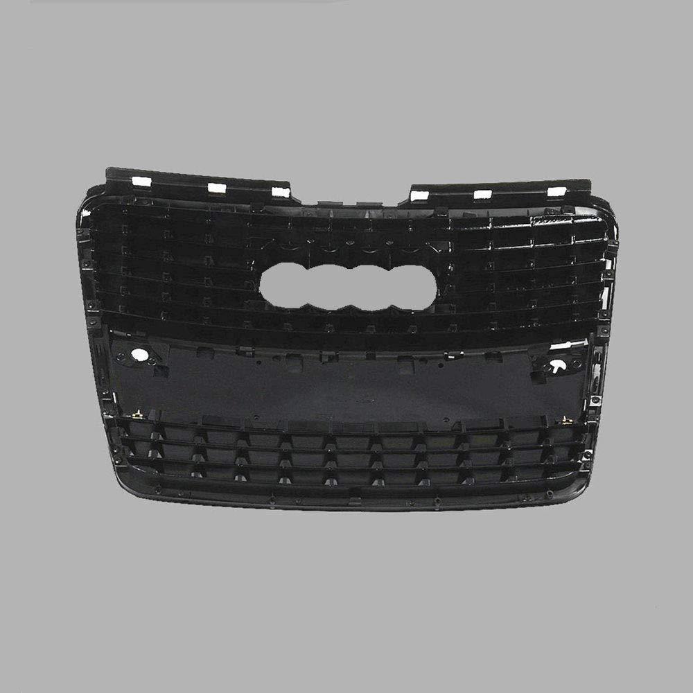 Fit AUDI A8 A8 Quattro D3 05-10 Front Bumper Center Grille Grill Black /& Chrome