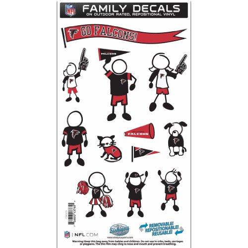 NFL Atlanta Falcons Medium Family Decal Set ()
