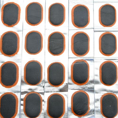 SupperDeal New Bicycle Bike Tire Tube 48 Rubber Patches Repair Kit
