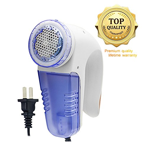 Briidea Portable Electric Lint Remover Fabric Shaver Sweater Pill Remover, Quickly and Effectively Remove All Clothes Fuzz Curtains Fluff